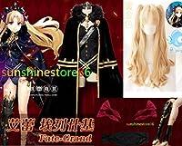 Fate/Grand Order(フェイトグランドオーダー・FGO・Fate go)エレシュキガル☆コスプレ衣装+ウィッグ+ 靴下+髪飾り