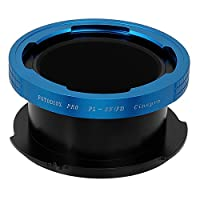 Fotodiox Pro Lens Mount Adapter, PL Mount Movie Lens to Sony FZ Mount Camera Adapter - fits Sony PMW-F3, F5, F55 Digital Cinema Camcorders
