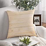 Pillow Covers Case Cozy Oak Abstract Brown Pine Wood Flooring Wall Natural Pattern Wooden Nature Plywood Table Plank Floor Throw Pillow Cushion Cover for Couch Sofa Home Decoration 16x16 Inch