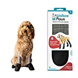 Walkee Paws Snug Fit Dog Leggings, The World's First Dog Leggings That are Dog Shoes, Dog Boots and Dog Socks All in One, As Seen on Shark Tank (Classic, M)