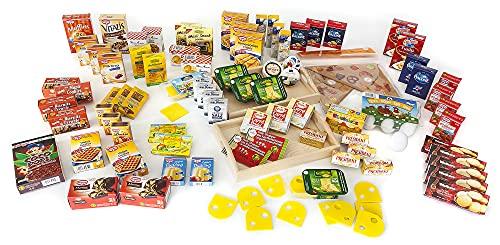 Polly Schatz für den Kaufladen | 100 Teiliges Zubehör Set für den Kaufmannsladen | Einkaufsladen Spielzeug
