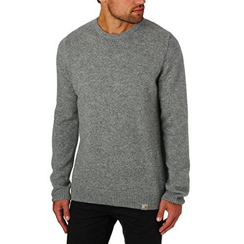 CARHARTT ALLEN SWEATER GRAY HEATHER L