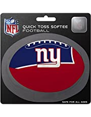 NFL New York Giants Kids Quick Toss Softee Football, Blue, Small