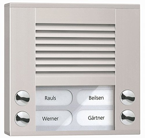 TCS Tür Control Audioaußenstation 2-reihig PES04-EN/04
