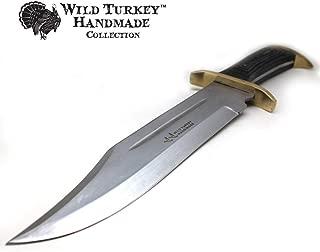 Wild Turkey Handmade Western Outlaw Bowie Knife (CW)