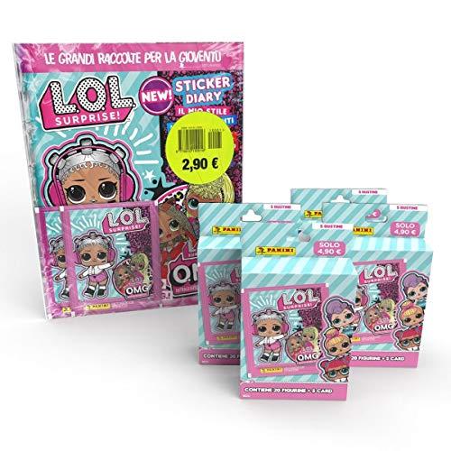 L.O.L. Surprise O.M.G. STICKERS & card Super Starter...
