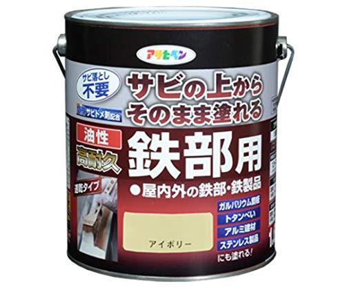 エスコ(ESCO) [油性] 錆止め塗料(アイボリー) 1.6L EA942CG-112