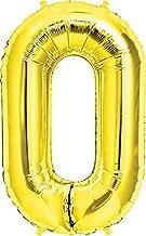 LuftBalloons 34 Inch Gold Deco Link Balloon