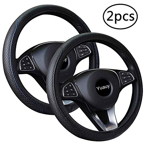 Silicon Steering Wheel Spinner Black for Car Truck Lorry Tractor Van Universal Wheel Knob Spinner Ball Gobesty Bouton de volant Spinner Black Car Steering Knob Black Steering Handle Ball