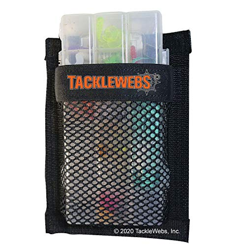 12' Wide x 16' High Hook & Loop TackleWebs Black