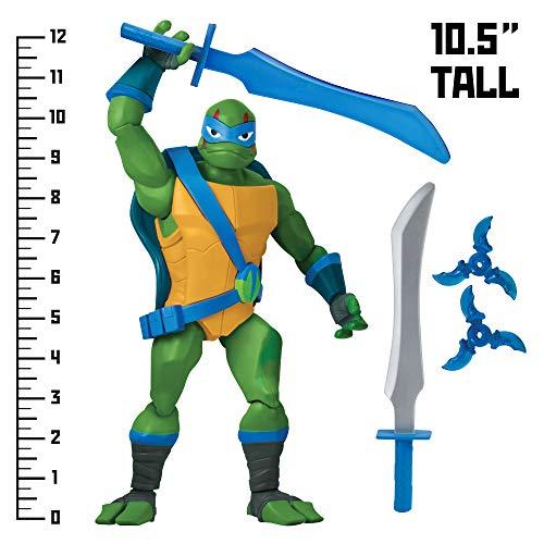 Return of the Teenage Mutant Ninja Tartarughe B07DNVRJ97 ROTMNT Leonardo Giant Action figure vari colori