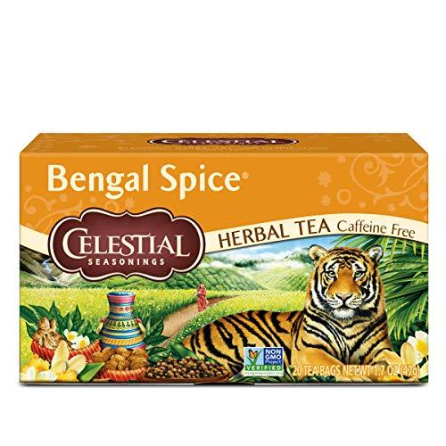 Celestial Seasonings Herbal Tea Bengal Spice 20 Count Pack of 6