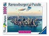 Ravensburger Puzzle 1000 Piezas, New York, Colección Beautiful Skylines, Puzzle para Adultos, Puzzle Nueva York, Rompecabezas Ravensburger de Alta Calidad