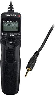 PHOLSY P6 タイマー リモートコントローラー インターバル 長時間露光 リモートコード Panasonic 用 S1H, S1RM, S1R, S1M, S1, G95, G91, FZ10002, G9, GH5, G85, G81,...