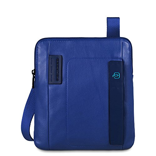 Piquadro, Sac pour Homme à Porter à l'épaule, Blu (Bleu) - CA1358P15/BLU
