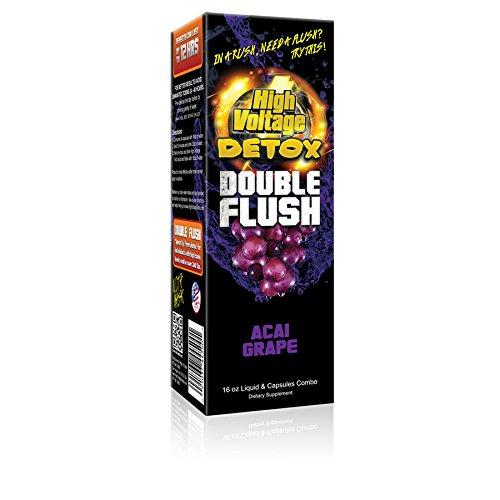 High Voltage Detox Double Flush Acai Grape