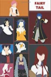 Fairy Tail: Anime Lover Notebook, 120 Squared Pages, 6 x 9, Gift, School&Office, Fairy Tail