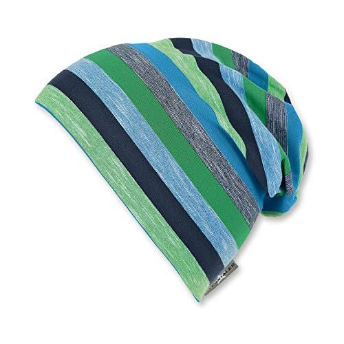 Sterntaler Jungen Slouch Beanie Hat Mütze, Blau (Marine 300), Large (Herstellergröße: 55)