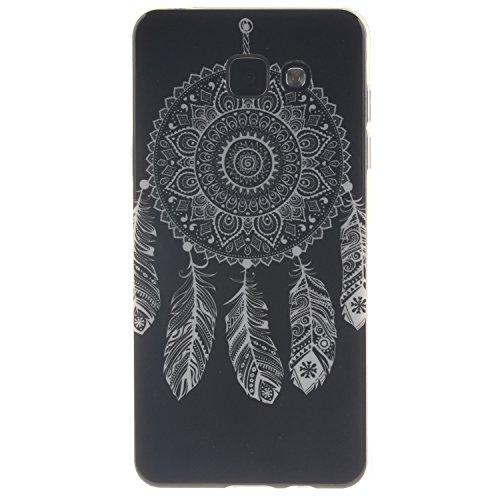 COZY HUT Samsung Galaxy A5 (2016) A510 Custodia, Stilosa Custodia di Design in Morbido TPU per Samsung Galaxy A5 (2016) A510 Cover Morbido TPU Case Trasparente disegnare Modello Ultra Sottile