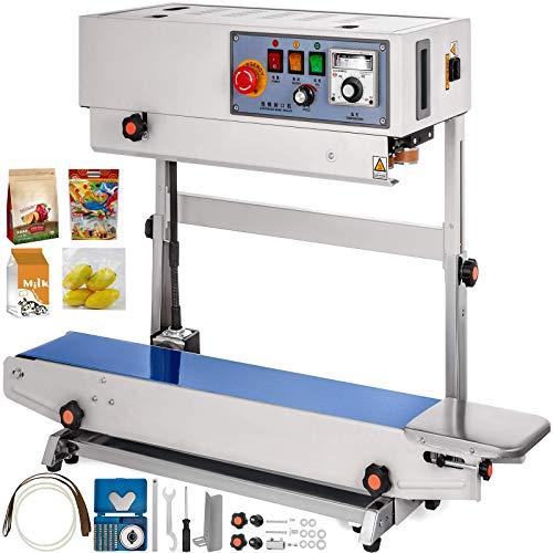 Küchenks FR770 Máquina de Sellado de Banda Vertical Contin