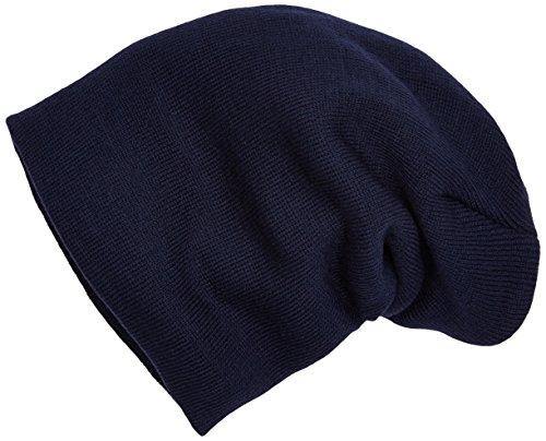 MSTRDS Basic Flap Bonnet à Rabat Bleu Marine Taille Unique