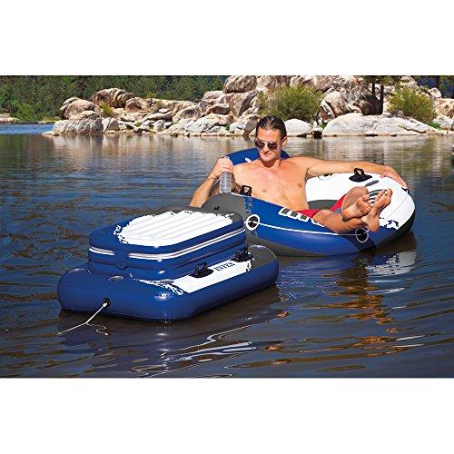 Intex Mega Chill II, Inflatable Floating Cooler, 48' X 38'