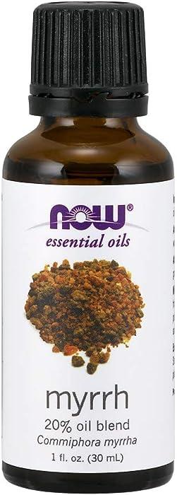 NOW Myrrh Essential Oil Blend , 1-Ounce (Pack of 2)
