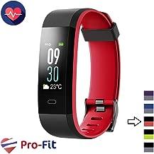 Pro-Fit VIP VeryFitPro Fitness Tracker Color Activity Tracker IP67 Waterproof Heart Rate Sleep Monitor (ID115C)
