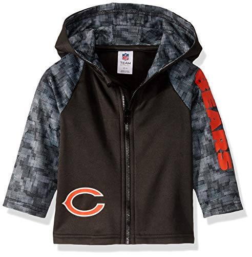 NFL Chicago Bears Boys HOODED JACKET, Team Color, 4T