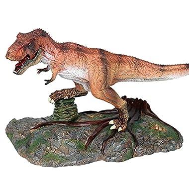 DUANCUICUIZ Model Carnivorous Tyrannosaurus Rex Dinosaur Tyrannosaurus Rex Big Dinosaur Animal Action Figure Gift (Color…