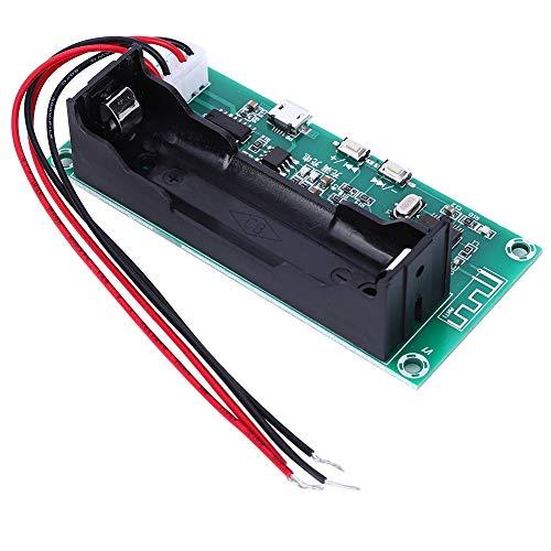 Kafuty-1 Amplificador Digital de Doble Canal Placa de Amplificador Bluetooth de Baja Potencia Piezas de Audio caseras 5W + 5W para Altavoz DIY