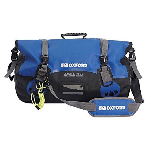 Oxford Aqua RB-50 Marine Waterproof Roll Bag - Black/Blue, 50 Ltr