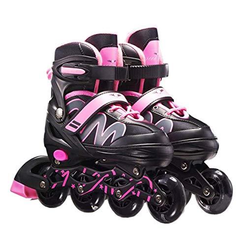 XIAOTIAN Einstellbare Inline-Skates, Anfänger-Inline-Skates, Premium-Qualität ABEC-7-Lagern Skates, Verfügbare Größen Sind 26-33, 33-37 Und 37-42, Anfänger-Rollschuhe Für Mädchen-Männer Und Damen