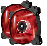 Corsair AF120 LED Quiet Edition 120mm Haut Débit LED Ventilateur de Boitier (Dual...