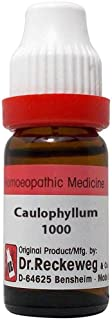Dr. Reckeweg Homeopathy Caulophyllum Thalictroides (11 ML) (Select Potency) by USAMALL (1000 CH)