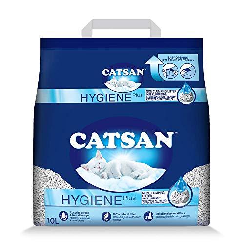 Catsan Hygiene Katzenstreu, Weiß, 10 l