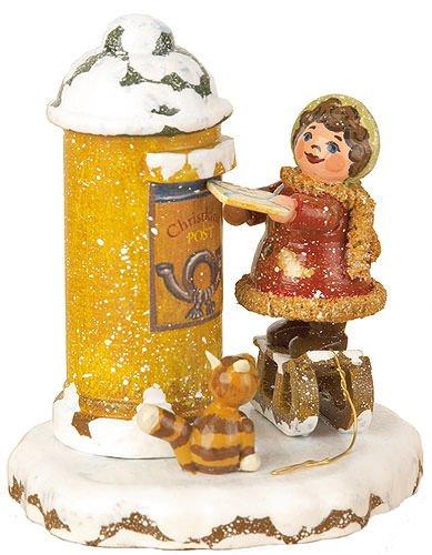 Kleine Figuren & Miniaturen Winterkinder Christkindelpost - 7cm - Hubrig Volkskunst
