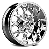 Dropstars 645V Wheel with Chrome Finish (20x10'/6x5.5', -19mm Offset)