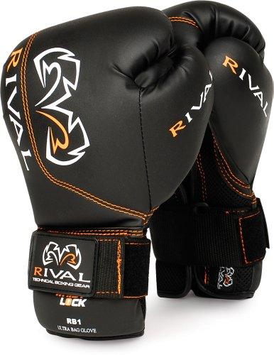 Rival Boxing Gloves-RB1 Ultra Bag Gloves (Red, 14oz)