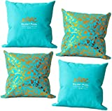 Silent Pool Gin Decorative Scatter <span class='highlight'>Cushion</span> Pair - 38 x 38 x 18cm - Ideal for indoor or outdoor use (2 Pack)