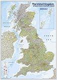 Close Up XXL Premium Karte des Vereinigten Königreichs