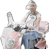 Regenkleidung Motorrad Transparent Regenponcho Regenmantel Wasserdichte Regenjacke EVA Fahrrad...