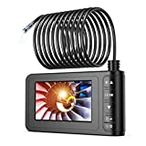 Industrial Endoscope, SKYBASIC 1080P HD Digital 33FT Borescope Camera Waterproof 4.3 Inch LCD Screen Snake...