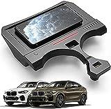 Cargador Inalámbrico Para Coche Compatible con BMW X5 X6 2019 2020 2021 Panel de Accesorios de Consola Central,Almohadilla Para Teléfono de Carga Rápida Qi de 15W con Puerto USB Para IPhone 11/XS/XR/X