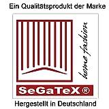 SeGaTeX home fashion Mitteldecke Landhaus-Tischdecke Karo in Grün 82 x 82 cm grün-weiß Kariert Hirschmotiv für Den rustikal-gemütlichen Landhaus-Stil - 3