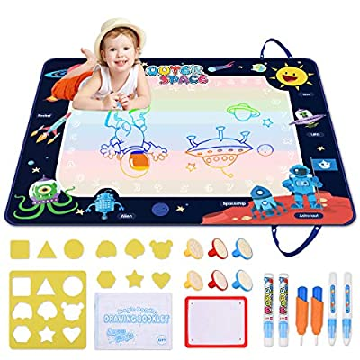 Doodle Mat Extra Large, Space Aqua Magic Mat, D...