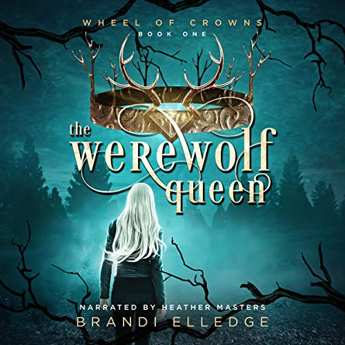 The Werewolf Queen audiobook cover art