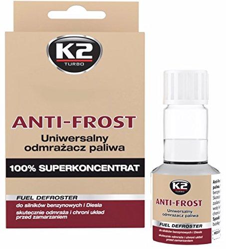 přídavek vody k odstranění K2 50ml protimrazové