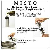 Misto Brushed Aluminum Oil Sprayer - 5061116