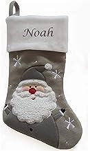 Hoolaroo Personalised Embroidered Christmas Stocking Boot